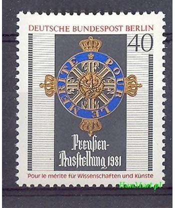Berlin Niemcy 1981 Mi 648 Czyste **