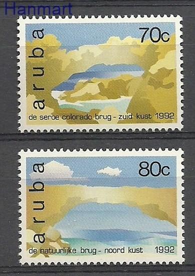Aruba 1992 Mi 116-117 MNH