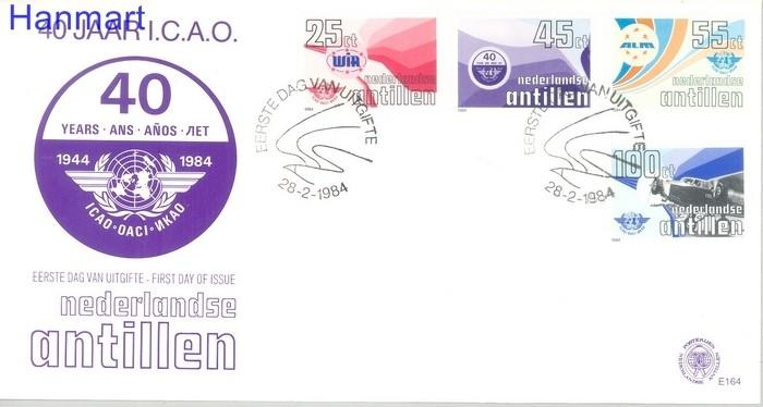 Netherlands Antilles 1984 Mi 516-519 FDC