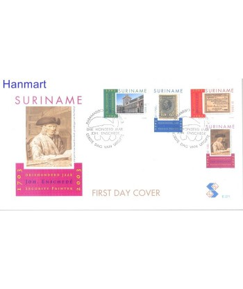 Surinam 2003 Mi 1878-1881 FDC