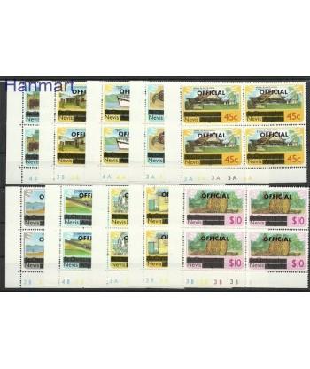 Nevis 1980 Mi 1-10 Czyste **