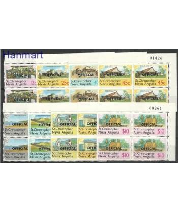 St. Christopher Nevis Anguilla 1980 Mi 1-9 Czyste **