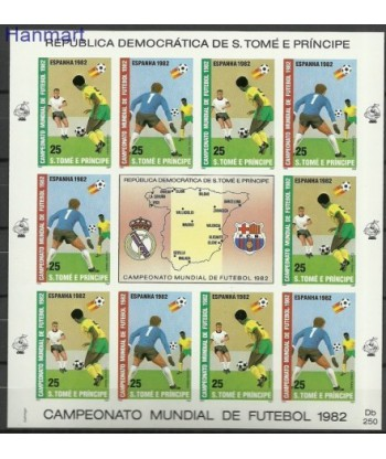 Wyspy Świętego Tomasza i Książęca 1982 Mi  Czyste **