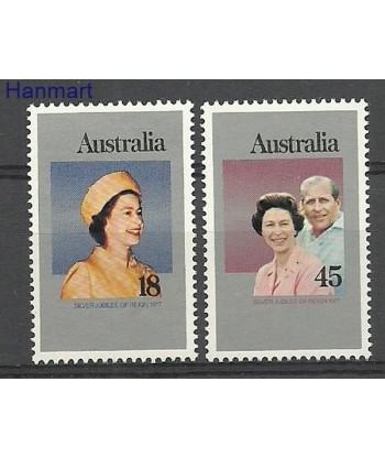 Australia 1977 Mi 630-631I Czyste **