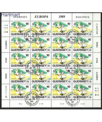Guernsey 1989 Mi 449-451 Stemplowane