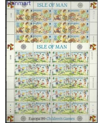 Wyspa Man 1989 Mi 404-407 Stemplowane