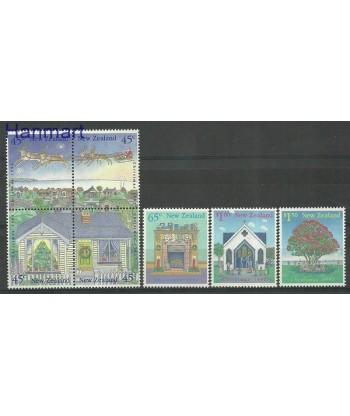 Nowa Zelandia 1992 Mi 1254-1260 Czyste **