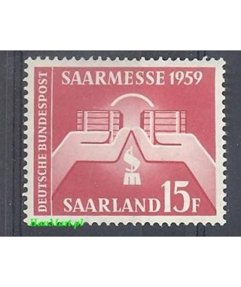 Saara 1959 Mi 447 Czyste **