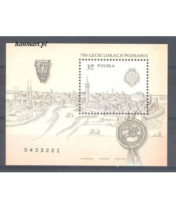 Polska 2003 Mi bl 156 Czyste **