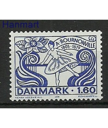 Dania 1979 Mi 696 Czyste **