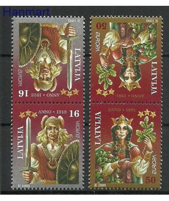 Łotwa 1995 Mi  Czyste **