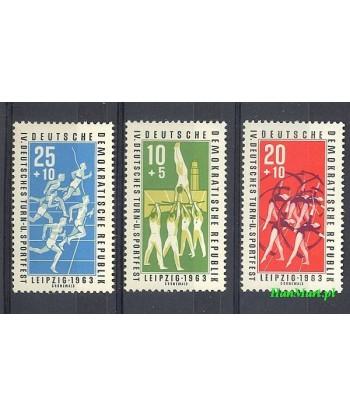 Niemiecka Republika Demokratyczna / DDR 1963 Mi 963-965 Czyste **