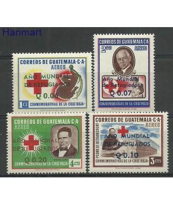 Gwatemala 1960 Mi 647-650 Czyste **