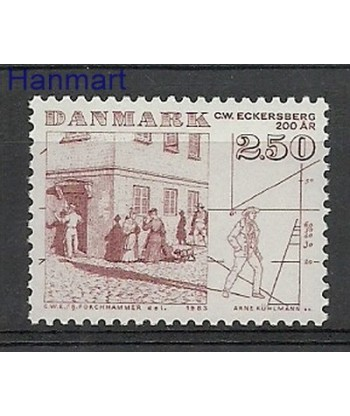 Dania 1983 Mi 791 Czyste **