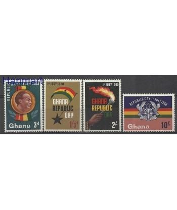 Ghana 1960 Mi 80-83 Z podlepka *