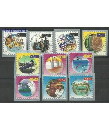 Antyle Holenderskie 1999 Mi 1016-1025 Stemplowane