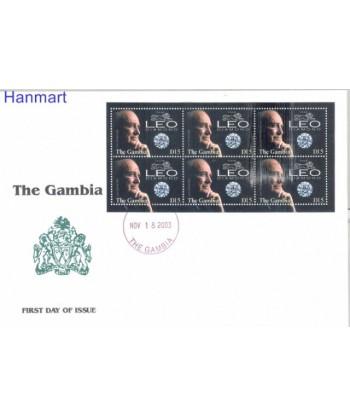 Gambia 2003 Mi ark 5041 FDC