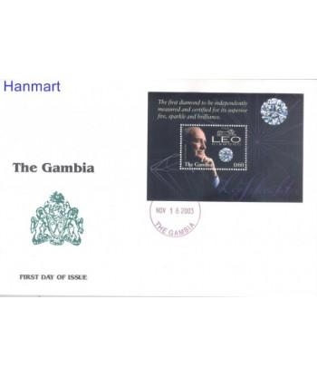 Gambia 2003 Mi bl 648 FDC
