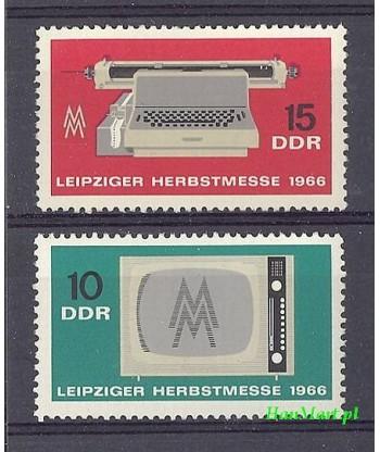 Niemiecka Republika Demokratyczna / DDR 1966 Mi 1204-1205 Czyste **