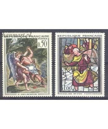 Francja 1963 Mi 1426-1427 Czyste **