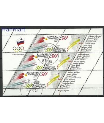 Słowenia 1992 Mi 6-7 Stemplowane