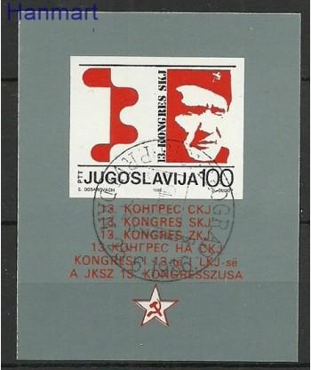 Jugosławia 1986 Mi bl 29 Stemplowane