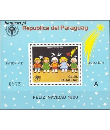 Paragwaj 1980 Mi bl 355 Czyste **
