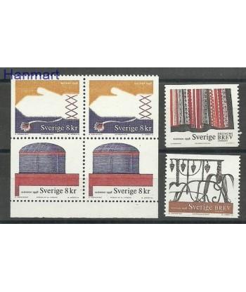 Szwecja 1998 Mi 2039-2042Dl,Dr Czyste **