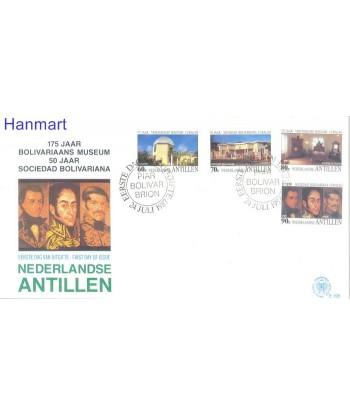 Antyle Holenderskie 1987 Mi  FDC
