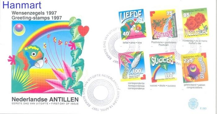Netherlands Antilles 1997 Mi 902-907 FDC