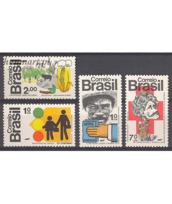 Brazylia 1972 Mi 1352-1355 Czyste **