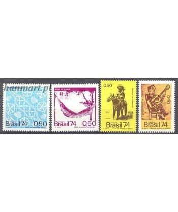 Brazylia 1974 Mi 1454-1457 Czyste **
