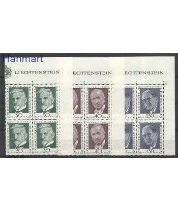 Liechtenstein 1972 Mi 570-572 Czyste **