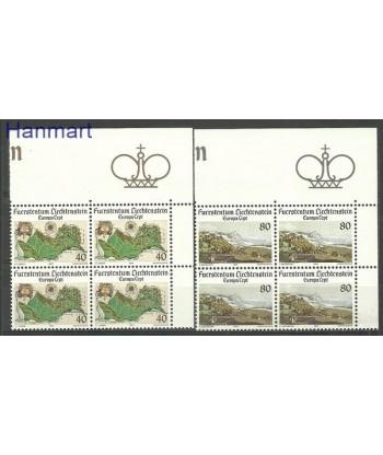 Liechtenstein 1977 Mi 667-668 Czyste **