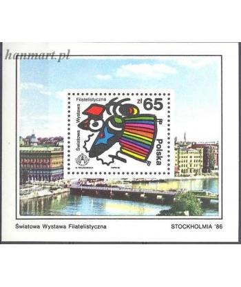 Polska 1986 Mi bl 100 Czyste **