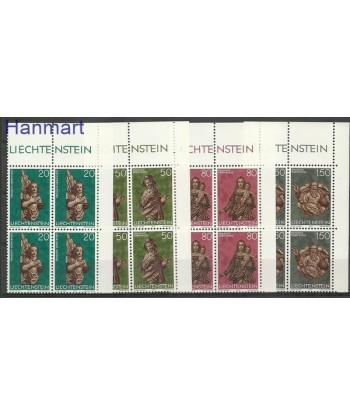 Liechtenstein 1977 Mi 688-691 Czyste **