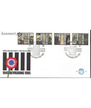 Holandia 1985 Mi 1270-1273 FDC
