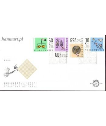 Holandia 1986 Mi 1288-1291 FDC