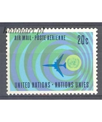 Narody Zjednoczone Nowy Jork 1968 Mi 202 Czyste **