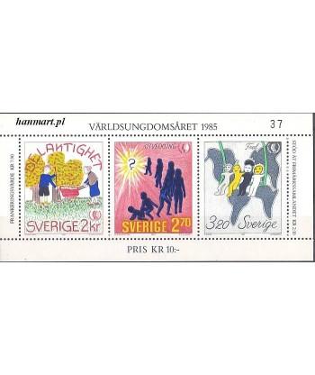 Szwecja 1985 Mi bl 13 Czyste **