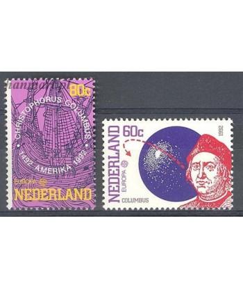 Holandia 1992 Mi 1441-1442 Czyste **