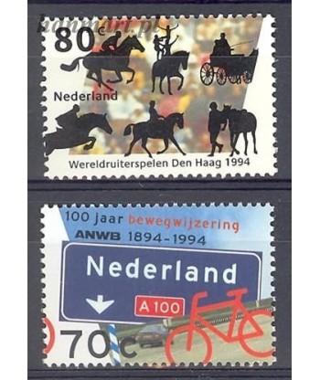 Holandia 1994 Mi 1518-1519 Czyste **