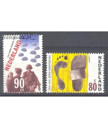 Holandia 1994 Mi 1520-1521 Czyste **