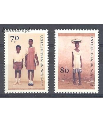 Holandia 1996 Mi 1590-1591 Czyste **