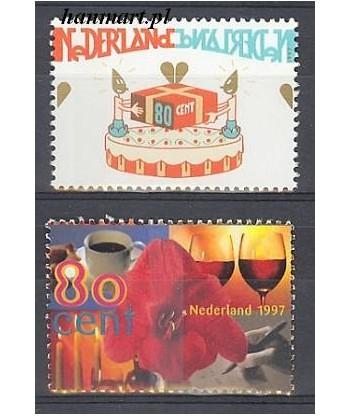 Holandia 1997 Mi 1616-1617 Czyste **