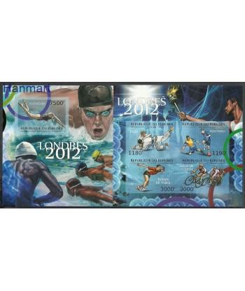 Burundi 2012 Mi ark2295-2298+bl192 MNH
