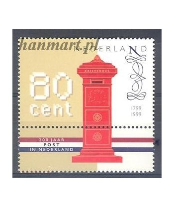 Holandia 1999 Mi 1705 Czyste **