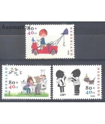 Holandia 1999 Mi 1750-1752 Czyste **