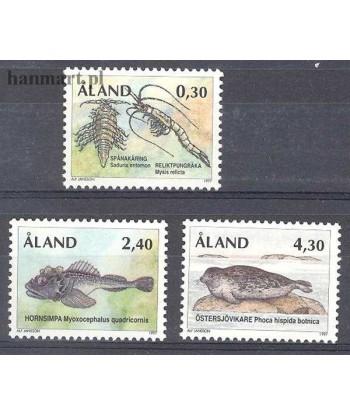Wyspy Alandzkie 1997 Mi 124-126 Czyste **