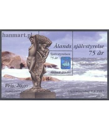 Wyspy Alandzkie 1997 Mi bl 3 Czyste **